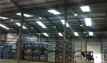 LED High bay lighting for industrial lighting project